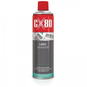 Preparat LABEL REMOVER 500ml spray do usuwania naklejek CX80